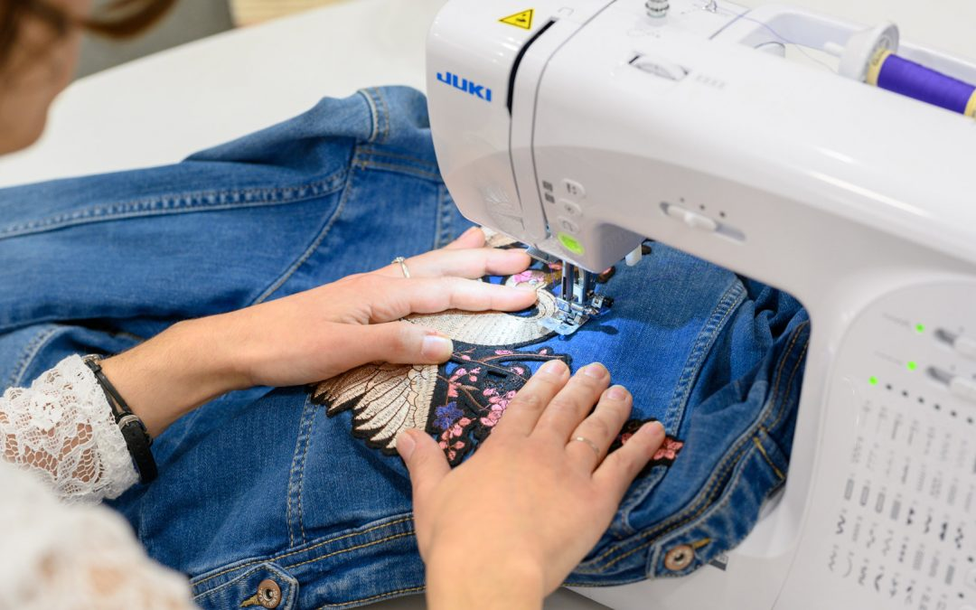 Customisation d'une veste en jean's !