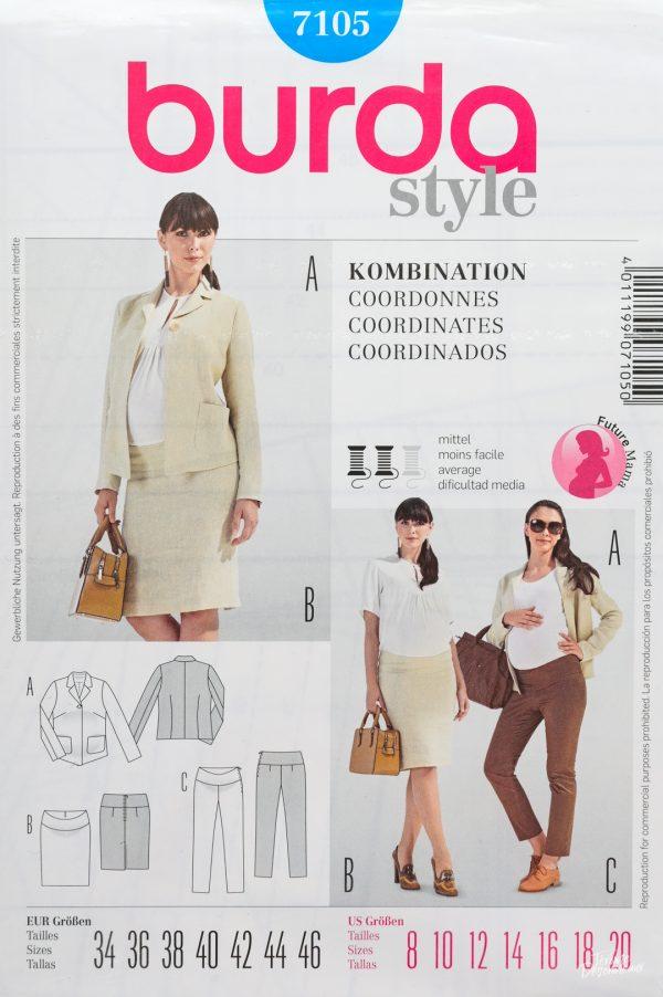 Patron de couture Burda 7105