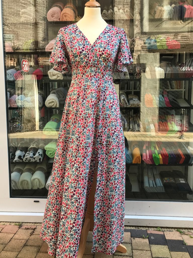 Robe Magnolia, tissu Liberty