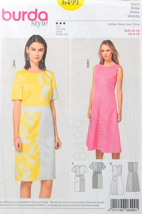 Patron de couture Burda 6499