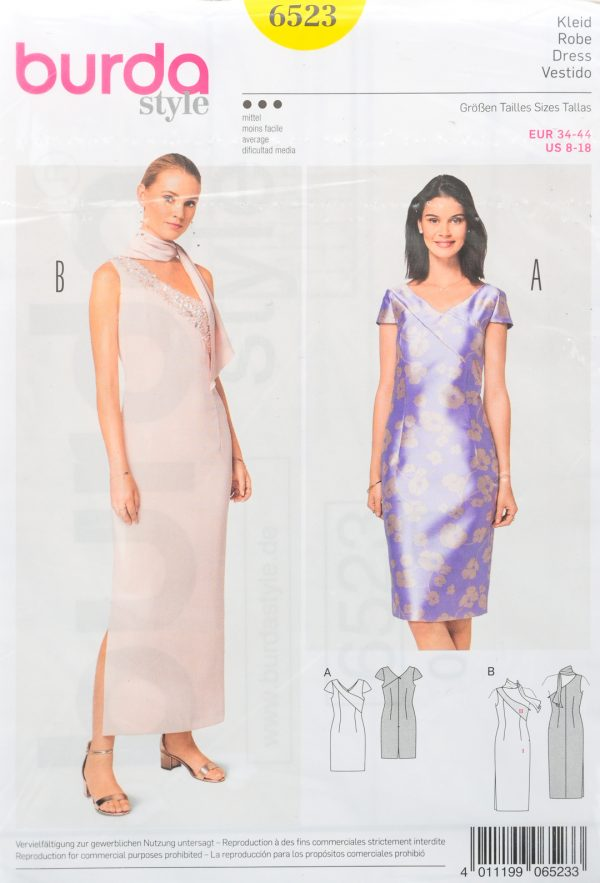 Patron de couture Burda 6523