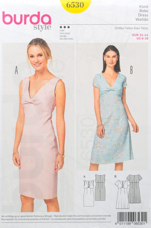 Patron de couture Burda 6530
