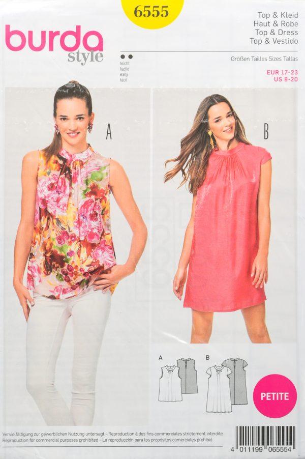 Patron de couture Burda 6555