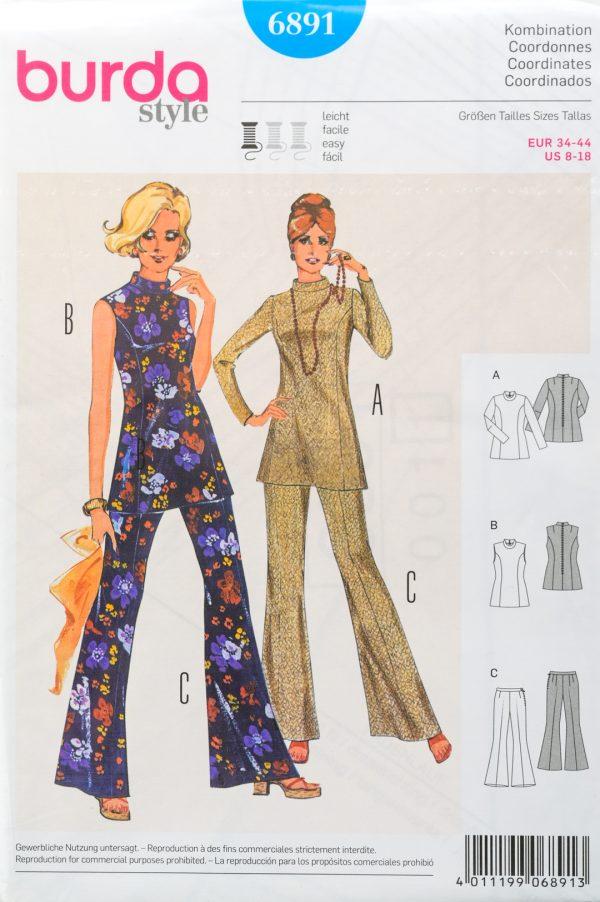 Patron de couture Burda 6891