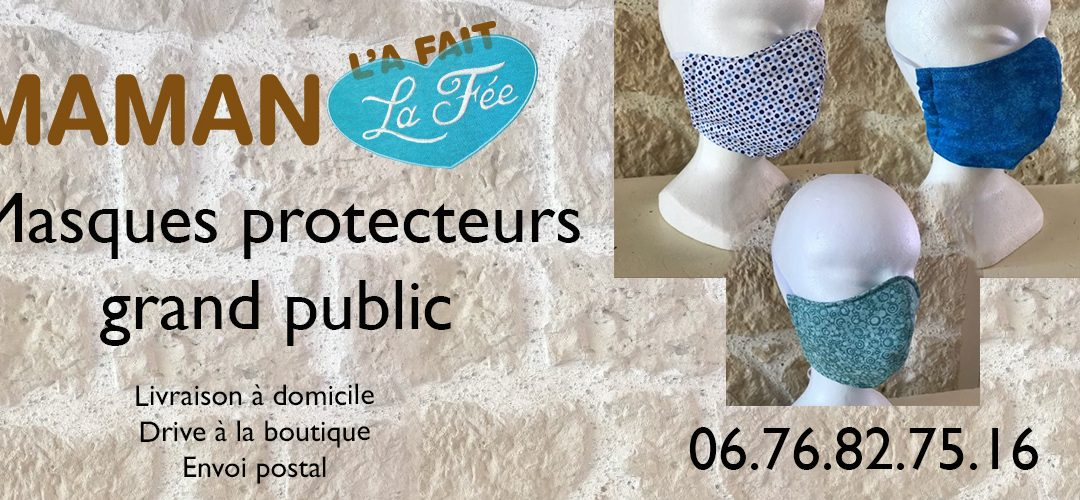 Masque protecteur grand public