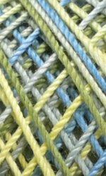 Bleu/vert/jaune (4506)