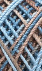 Bleu/marron (4515)