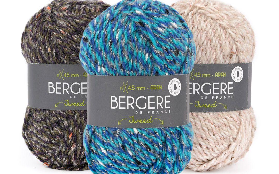 Promotion sur le Fil Bergere de France Tweed