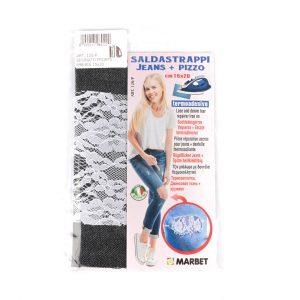 Pièce réparation accro pour Jeans + Dentelle thermocollante