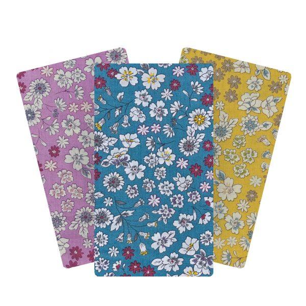 Tissus fleuris FROUFROU. tissu composé à 100 % de coton