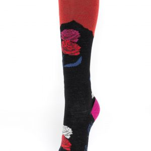 Chaussettes Berthe aux grands pieds Vive les fleurs
