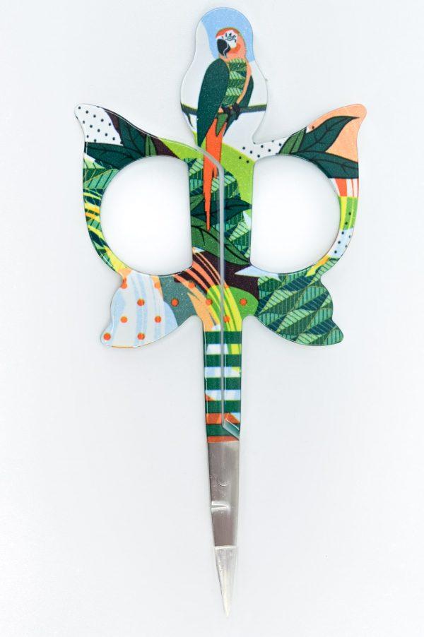 Ciseaux à broder Bohin - Perroquet vert