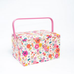 La Boîte à Coudre - Jardin fleuri rose