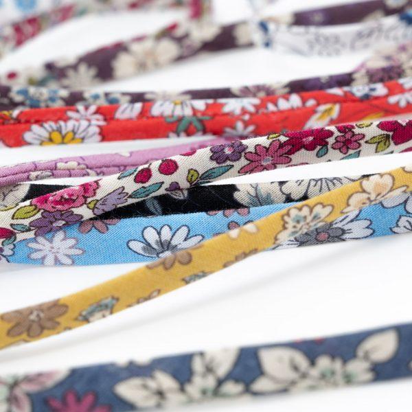 Cordons fleuris coton