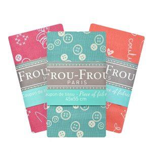 Coupon de tissu COUTURE - FrouFrou Paris I LOVE COUTURE
