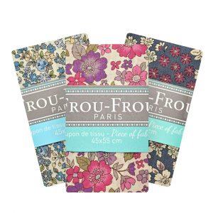 Coupon de tissu Fleuri Frou-Frou Paris