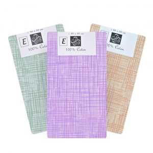 Coupon Tissu Rayure FAT-QUARTER