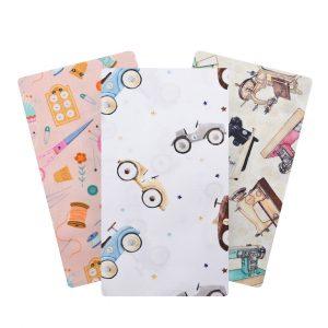 Tissu Coton imprimé Graphique