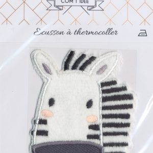 Écusson Thermocollant - ZEBRE