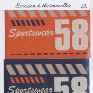 Écusson Thermocollant - SPORTSWEAR