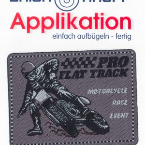 Écusson Thermocollant - MOTO RACE