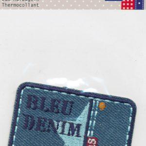 Écusson Thermocollant - ETOILE BLEUE