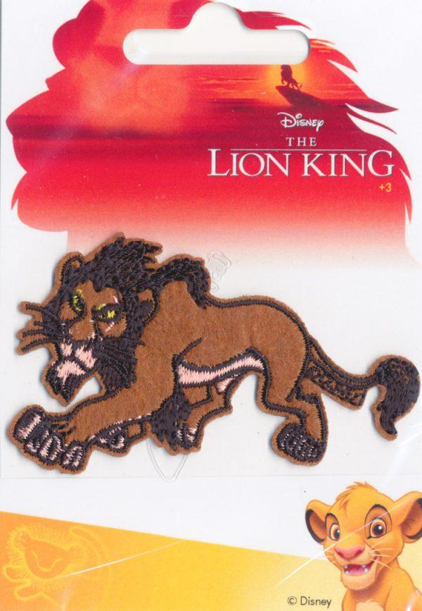 Écusson Thermocollant - ROI LION SCAR