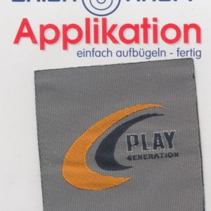 Écusson Thermocollant - PLAY GENERATION