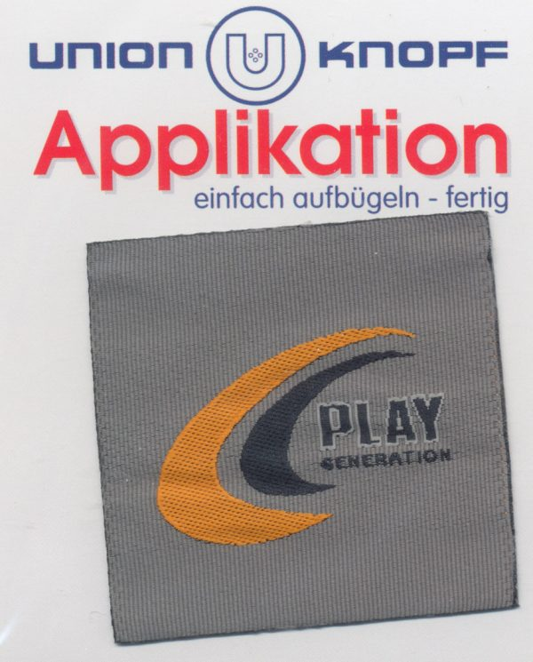 Écusson Thermocollant - PLAY GENERATION