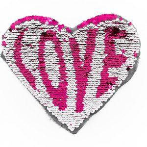 Écusson à coudre Géant Coeur - Love