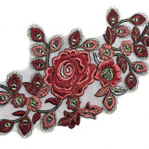 Écusson à coudre Géant Roses