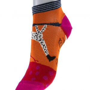 Socquettes Berthe aux grands pieds Girafe