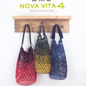 Livre DMC NOVA VITA - 16 Projets Sacs et accessoires