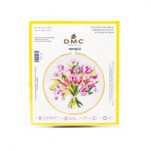 Kit Point De Croix Bouquet de Fleurs