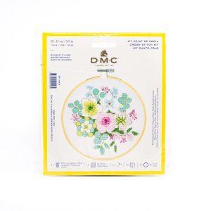 Kit Point De Croix Bouquet de Fleurs Pastels