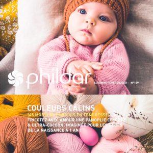 Livre Phildar Couleurs Câlins - Imaginé pour les bébés