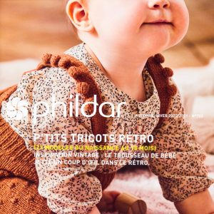 Livre Phildar P'tits Tricots Rétro