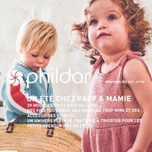 Livre Phildar Un été chez Papy et Mamie