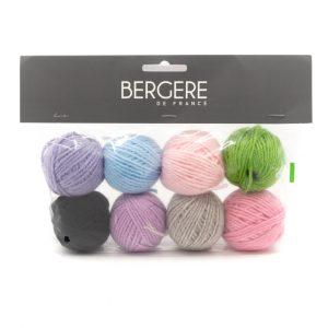 Kit Mini Laine Bergere de France 8 pelotes