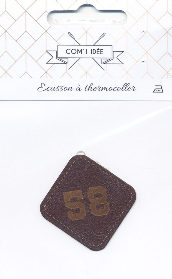 Écusson Thermocollant Badge 58
