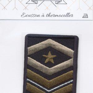 Écusson Thermocollant Badge Etoile